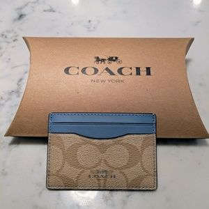 New Coach card holder